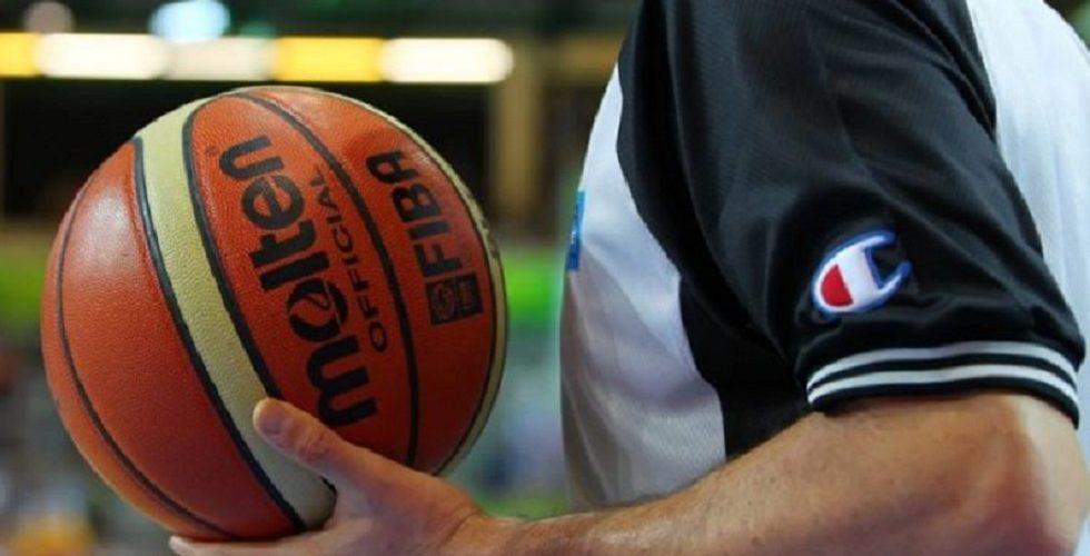 Διαιτητές μπάσκετ