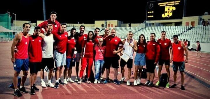 Ολυμπιακός Στίβος Πανελήνιο Πρωτάθλημα