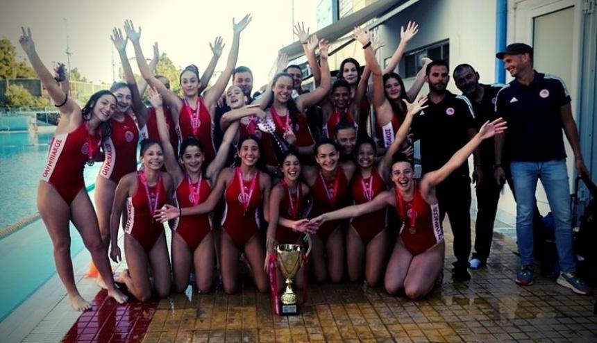 Πόλο Γυναικών: Πρωταθλήτριες (και) οι Κορασίδες!