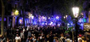 Βαρκελώνη Κορονοπάρτι