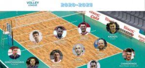 Volley League κορυφαία ομάδα