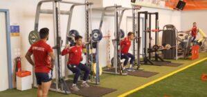 Ολυμπιακός προετοιμασία γυμναστήριο
