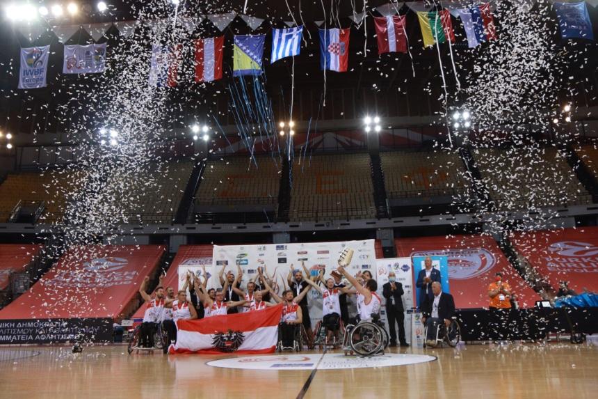 «Με επιτυχία πραγματοποιήθηκε η τελετή λήξης του Πανευρωπαϊκού Πρωταθλήματος Μπάσκετ με Αμαξίδιο»