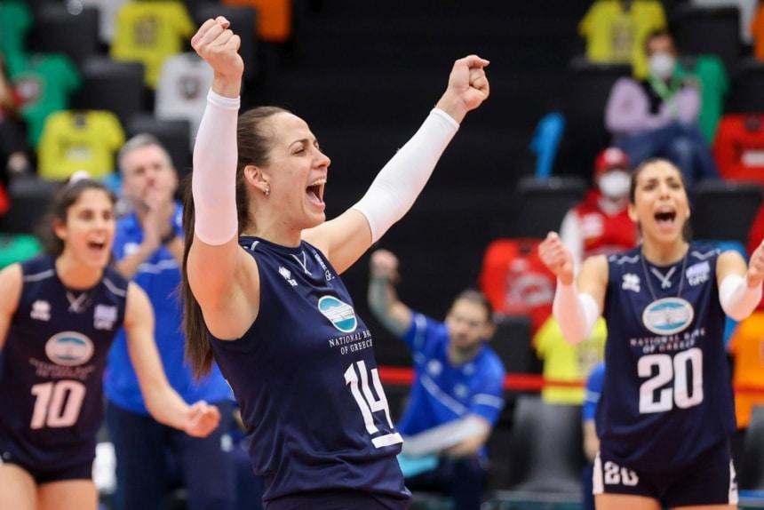 Ευρωπαϊκό πρωτάθλημα βόλεϊ γυναικών: Δεύτερη ήττα για την Εθνική με 3-0 από την Πολωνία!
