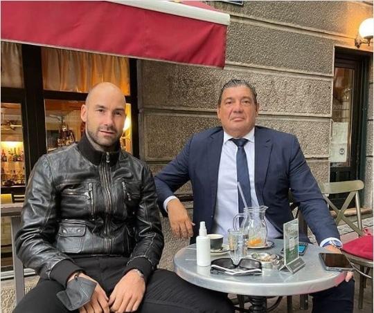 Ραζνάτοβιτς για συνάντηση με Σπανούλη: «Σήμερα είμαστε δύο στενοί φίλοι που στηρίζουμε ο ένας τον άλλον σε μία μεγάλη απώλεια»