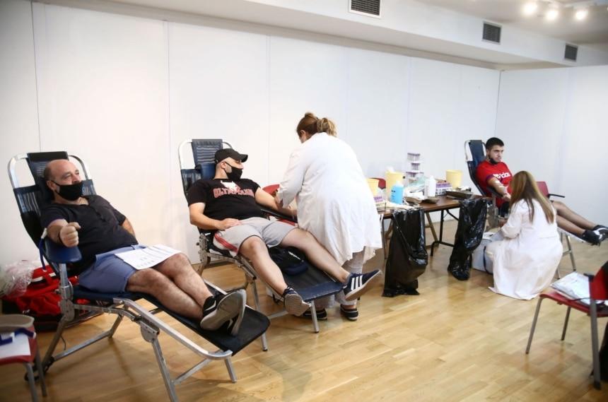 Ολυμπιακός: Εθελοντική αιμοδοσία στο «Γ. Καραϊσκάκης»!