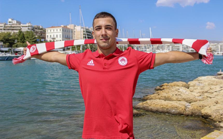 Κοντοβάς: «Χαρά και περηφάνεια που εντάσσομαι στο τμήμα του Ολυμπιακού!»