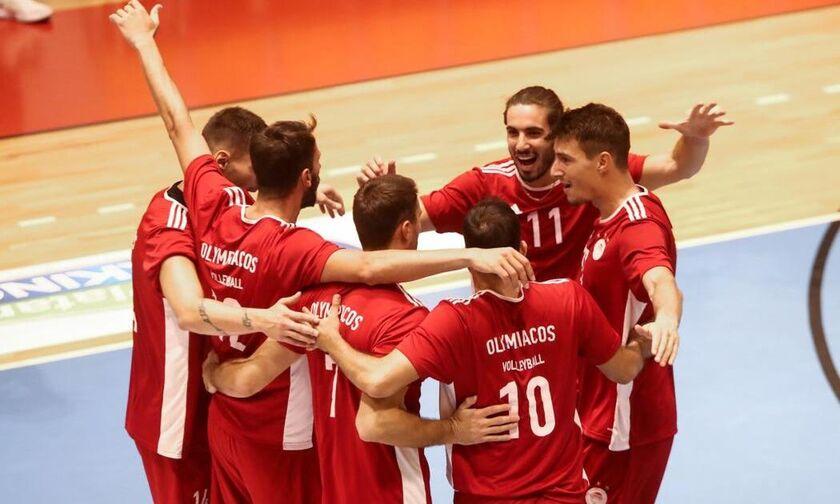 Ολυμπιακός: Φιλική νίκη με 3-0 σετ στο Ζηρίνειο κόντρα στην Κηφισιά ο Θρύλος!